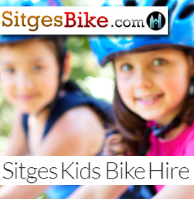 sitges hire rent bike bikes bicycles bici bicis